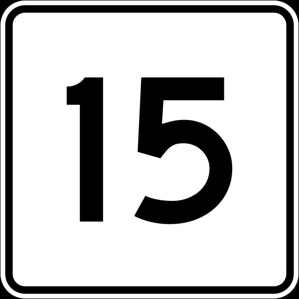 数字 15 シウマ